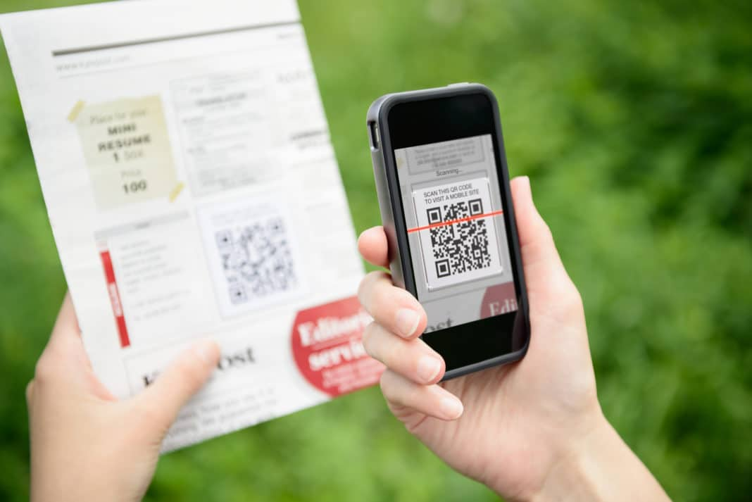 Gathering Information about a Business from QR Codes